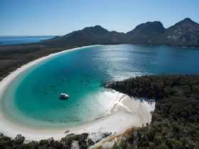 At Anchor in Wineglass Bay
