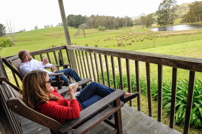 Winery & Farm Experience Tasmania Tamar Valley Accommodation
