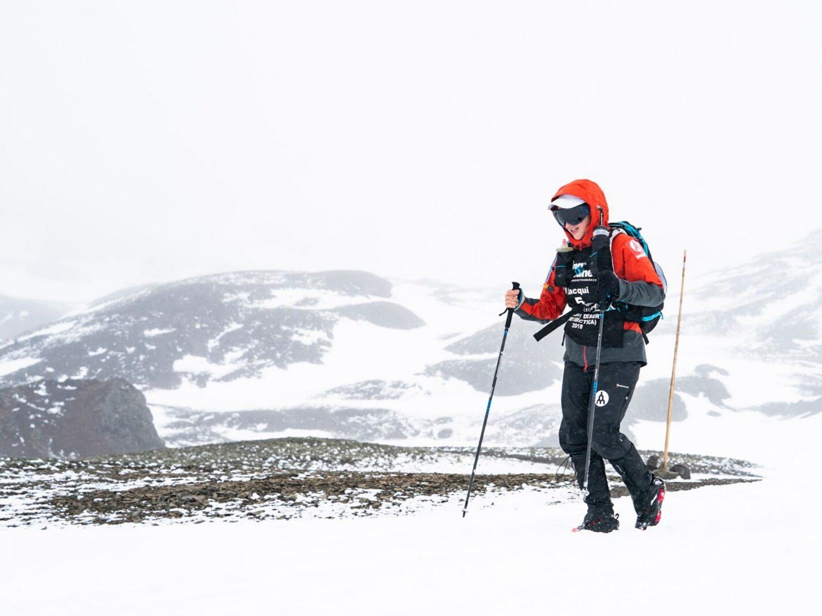 Antarctica 250km Multi Stage Ultra Marathon in 2019 the 4th and final desert