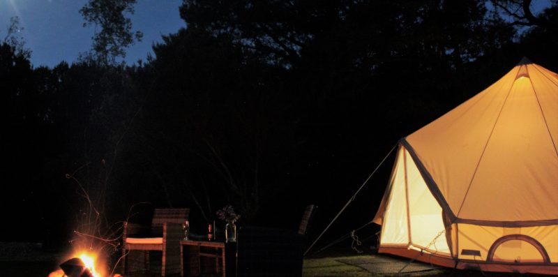 Glamping tent (double)