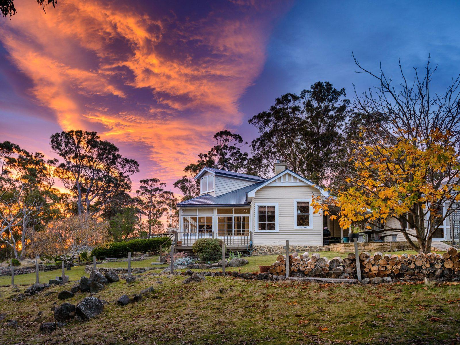 Sunrise over the Signalman's Cottage