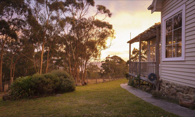 Sunrise at the Signalman's Cottage