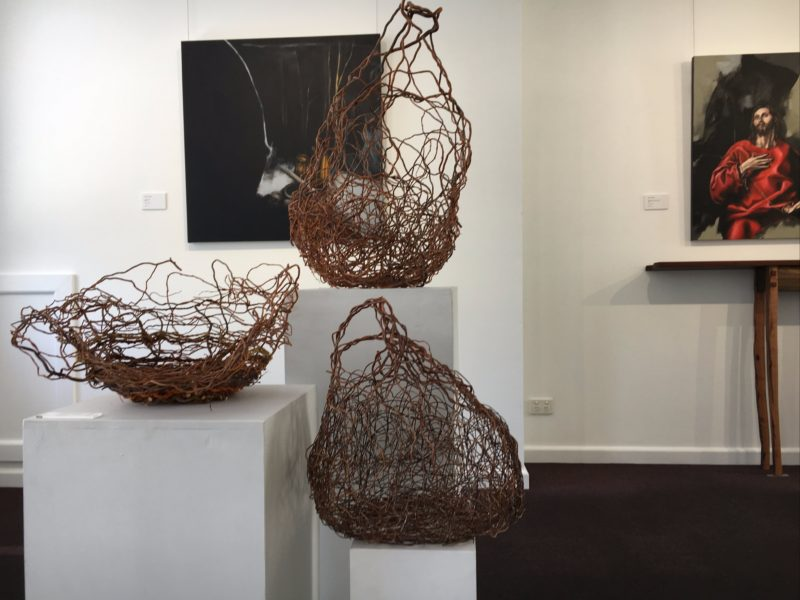 Networked baskets