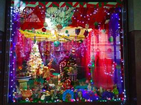 12 Days of Christmas Windows by Melinda Muscat