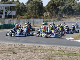 See drivers racing for the 2019 Victorian State Karting Championship