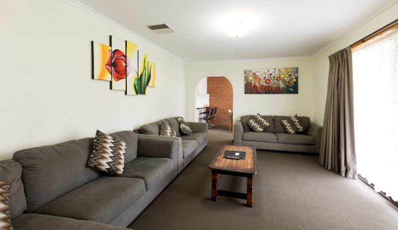 Three bedroom self contained apartment - lounge room