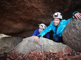 Underground River Caving in the Mount Buffalo National Park