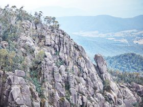 Views of The North Wall on Mount Buffalo