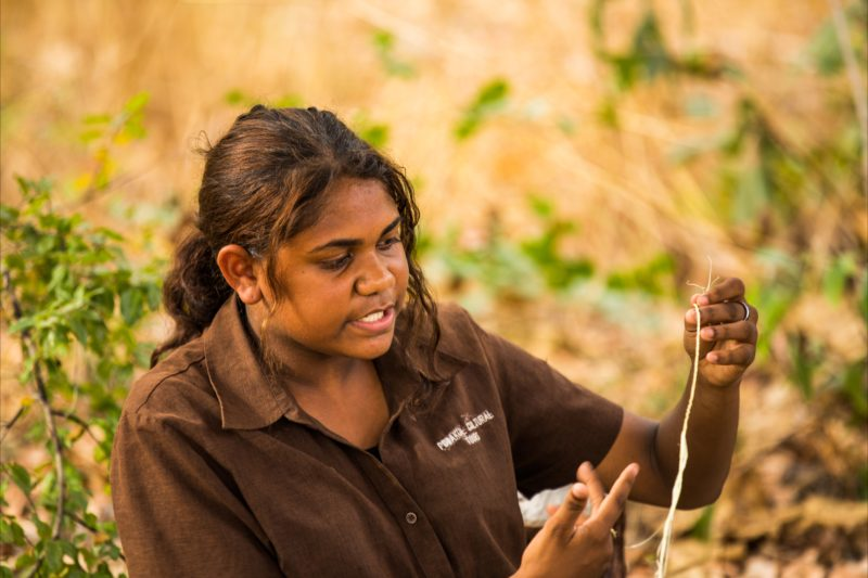 Learn traditional cultural techniques in the Outback