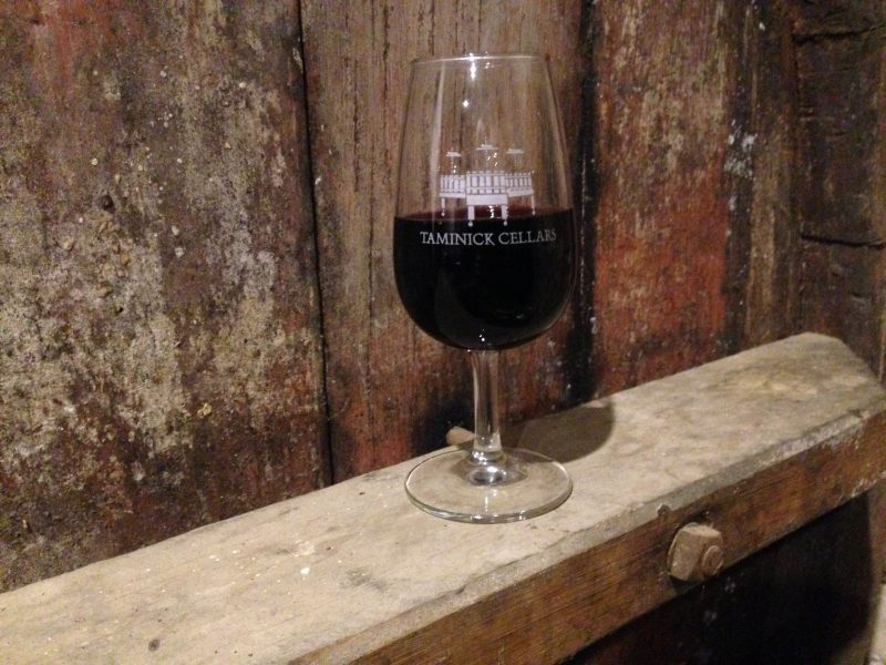 Taminick Cellars Shiraz from the old vines planted in 1919