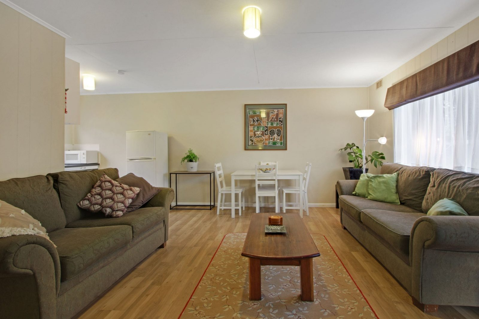 Living area Flat 1