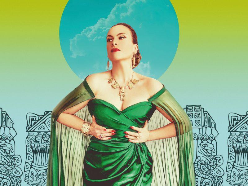 Victorian Opera Ali McGregor is Yma Sumac: The Peruvian Songbird