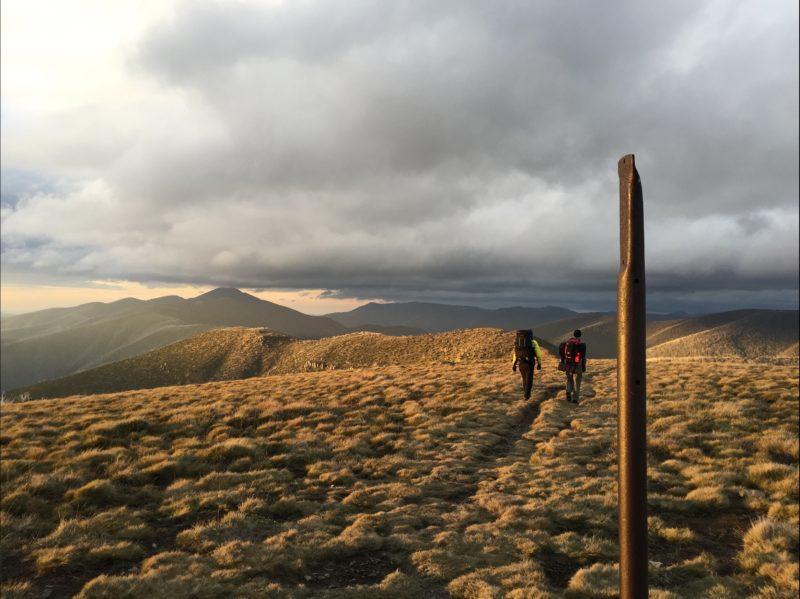 The spectacular Razorback crossing