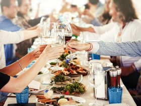 Australian Christmas Lunch at the Lodge