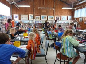 """""""Kids Art Bash"""" held every January"""