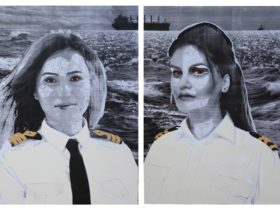 2018 Maritime Art Prize Winner: Joni Dennis, 'Aye Aye Captain'