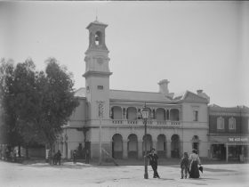 Former Beechworth Post Office in 1912
