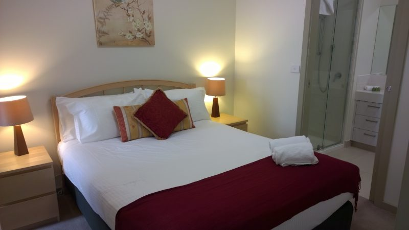 All of the two and three bedroom rooms all boast a private en-suite for the master bedroom