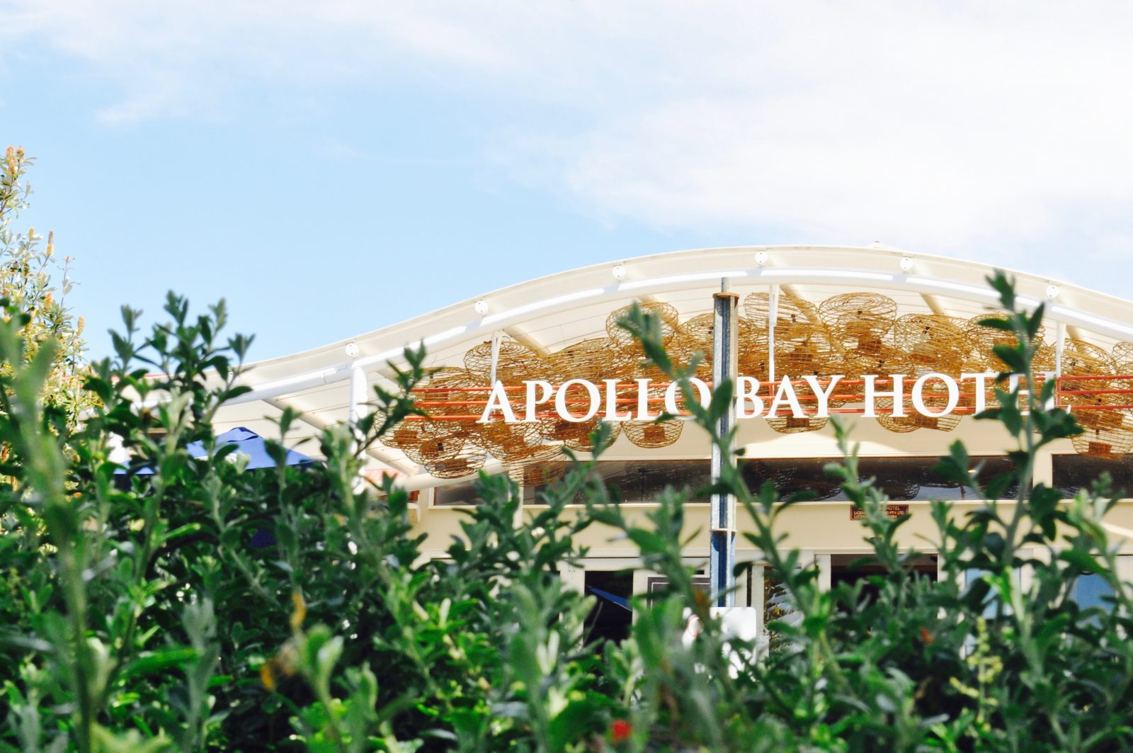 View of the Apollo Bay Hotel