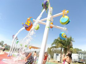 Try out Shepparton's very own interactive Splash Park