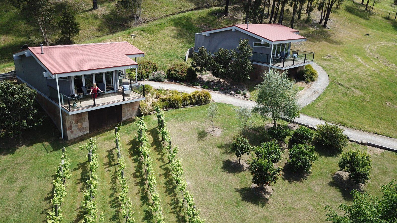 Arial of Hilltop Spa Villas