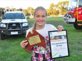 Strathbogie Shire 2015 Junior Citizen