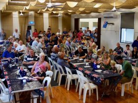 Australia Day community celebrations in Mudgegonga