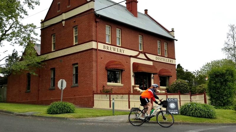 Brewery stop
