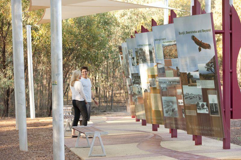 Australian Light Horse Memorial Park - Interpretive Boards