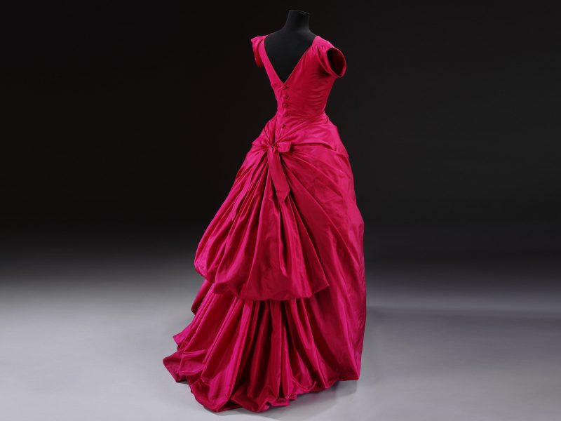 Silk taffeta evening dress, Cristóbal Balenciaga, Paris, 1955