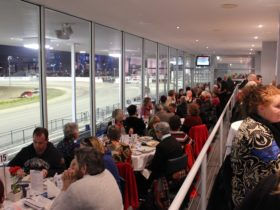 Terrace Restaurant is open on race nights