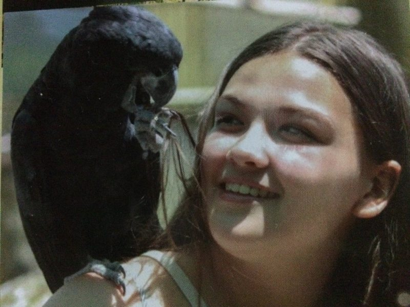 Black Cockatoo and Paige