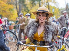Ballarat Lifestyle Magazine Tweed Ride Bicycle Rider