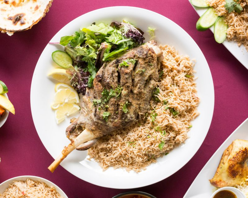 Lamb Sajji