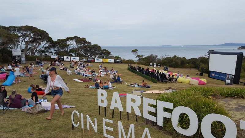 Barefoot Cinema in picturesque Point Nepean National Park, Portsea