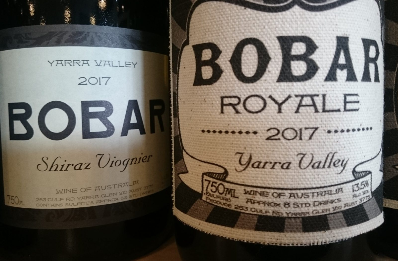 Bobar Wine tasting at Barrique Wine Store.