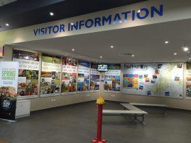 Baxter southbound visitor information