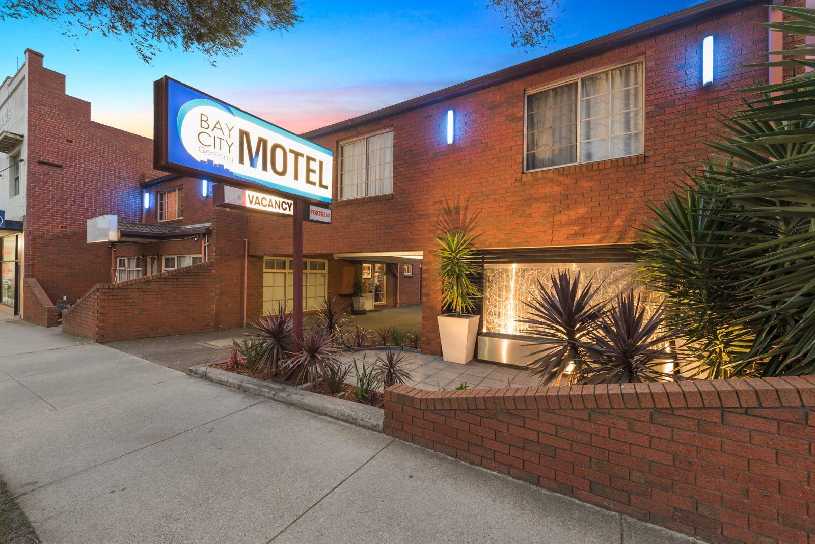 Entrance to Motel