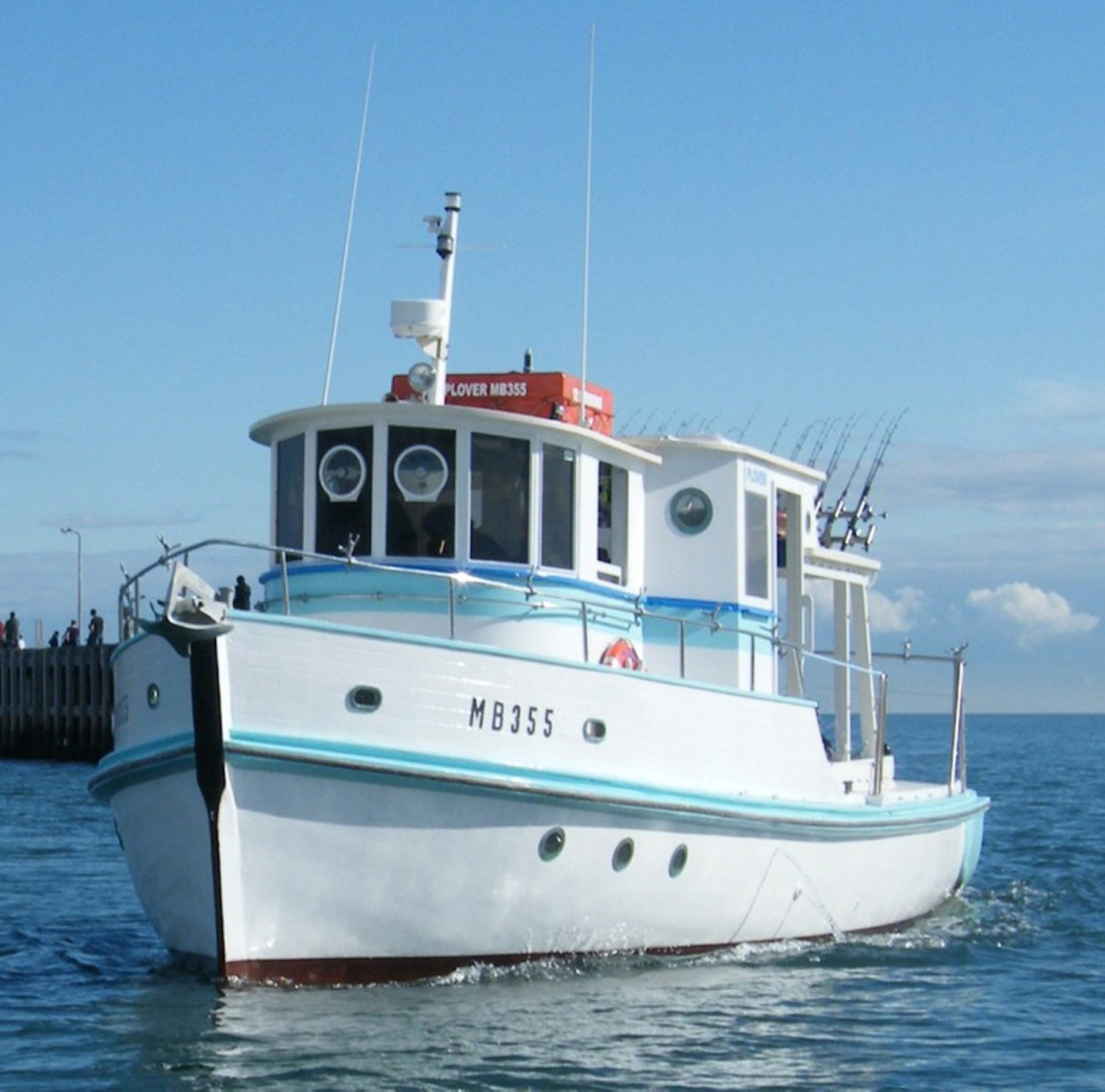 Plover - the heart of Bay Fish N Trips