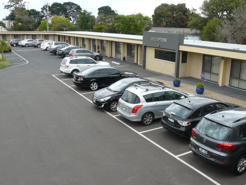 Plenty of free carparking