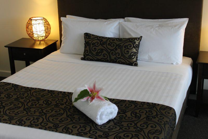 Comfortable queen beds in all rooms