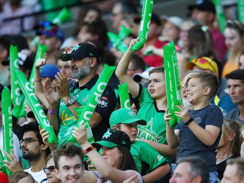 Melbourne Stars Fans