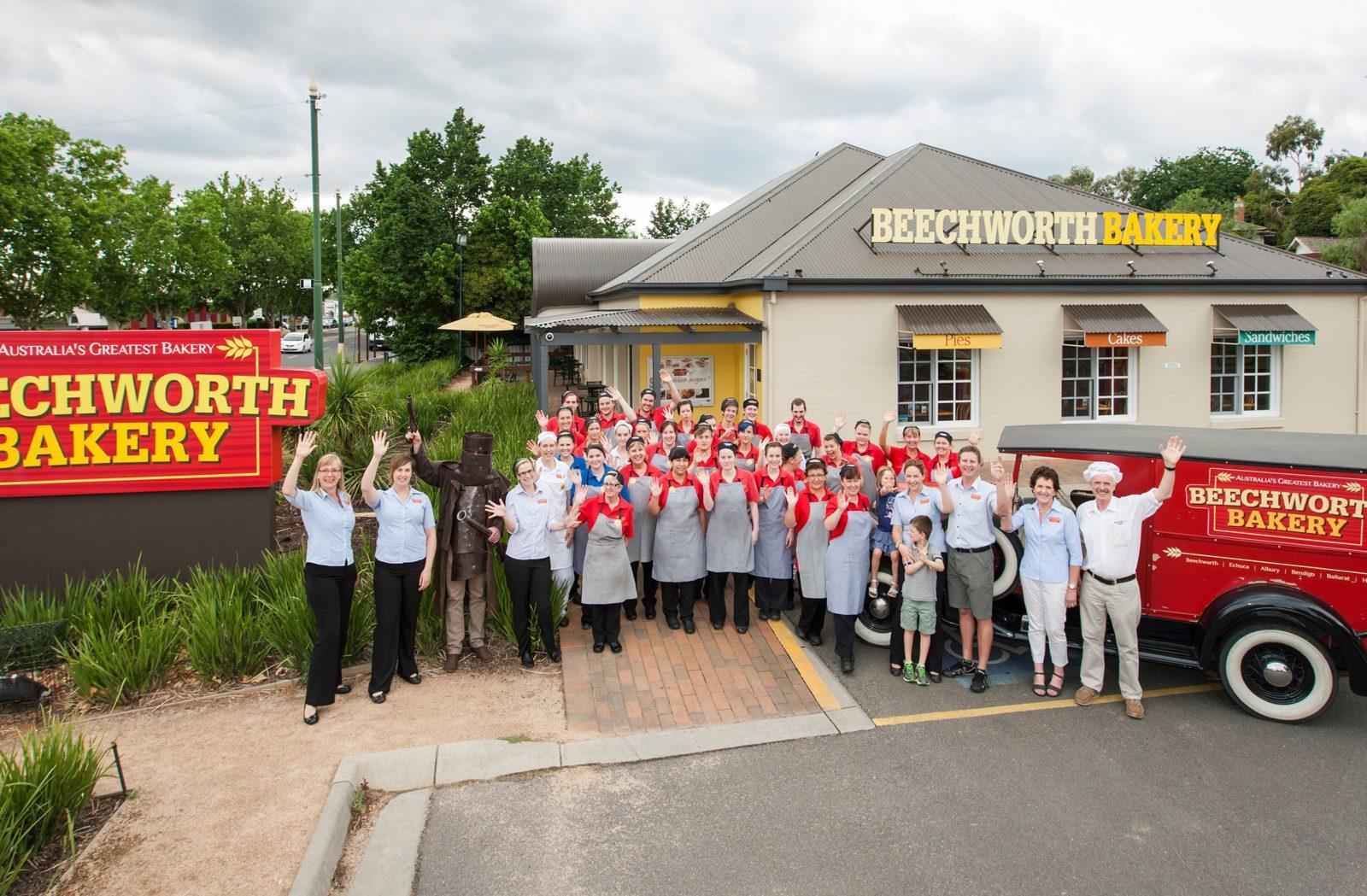 Beechworth Bakery Bendigo's friendly team