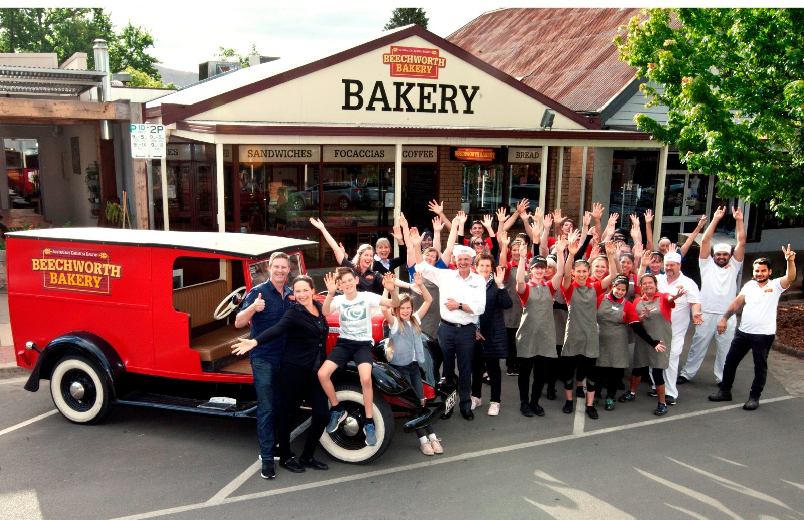 Beechworth Bakery Bright team