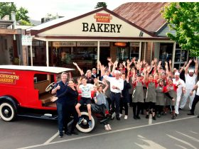 Beechworth Bakery Bright team