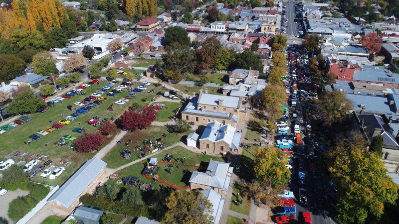 Drone photo of venue