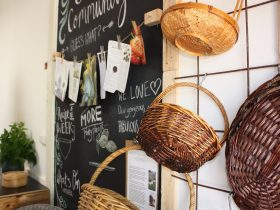 Baskets for co-op shopping