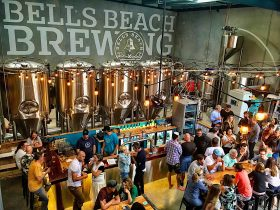 Afternoon drinks at The Brewery - Torquay Taproom Bells Beach Brewing