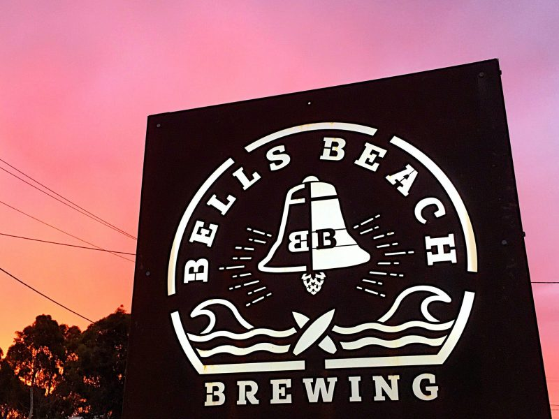 Sunset drinks at The Brewery - Torquay Taproom Bells Beach Brewing