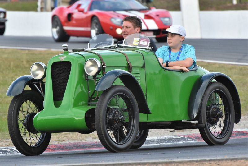 Vintage car for Benalla Historic Vehicle Tour
